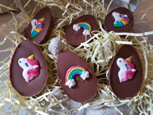 Unicorn Chocolate Eggs
